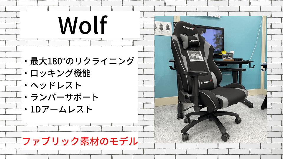 その⑥:Wolf【ファブリック素材】